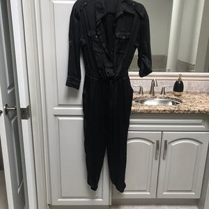 Bebe black jumpsuit